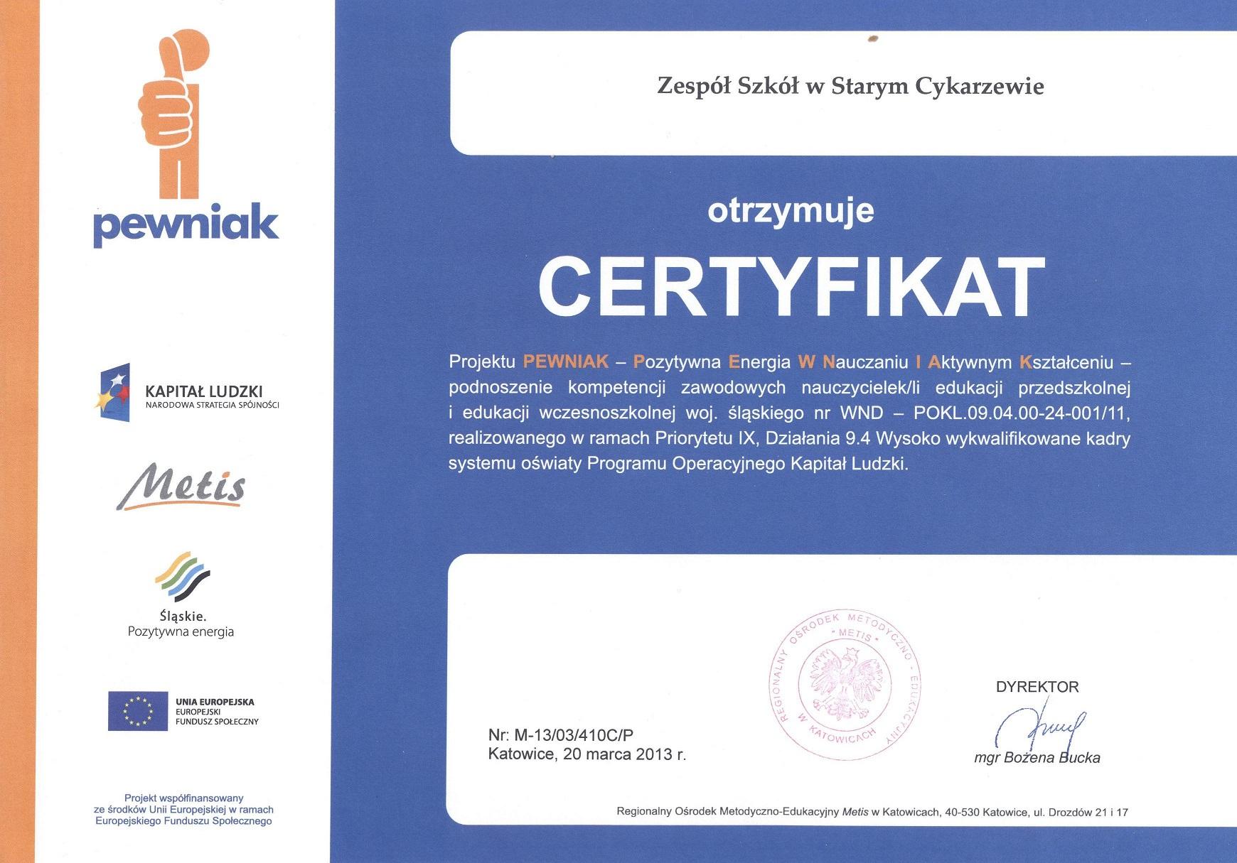 http://www.pewniak.metis.pl
